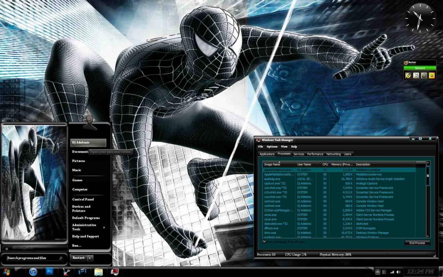 Фильмы мультики черный человек паук