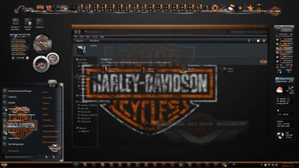 Harley Davidson FullGlass