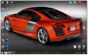 Audi R8 - Тема с авто Ауди