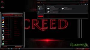 Rockstar Red - Красная Рок тема