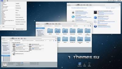 mLion7 - сорокаградусная тема на стиле Mac OS