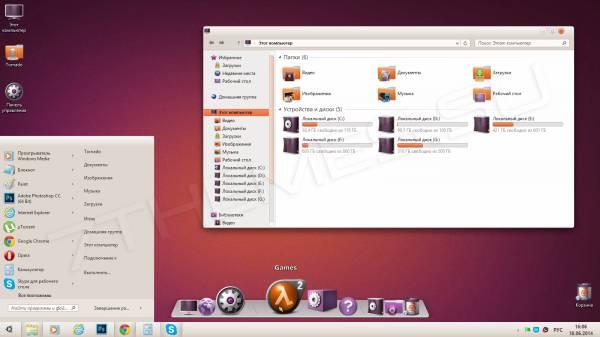 FS Ubuntu SkinPack