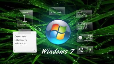 Glass Gadgets - стеклянные гаджеты с целью Windows 0
