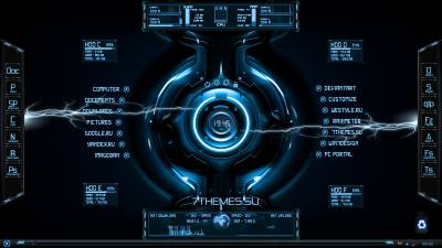 HUD Digital Rainmeter