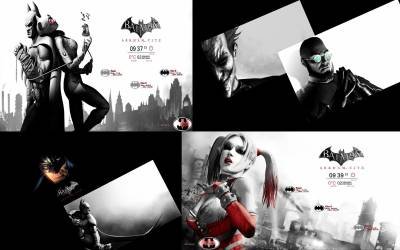 Batman: Arkham City- Rainmeter