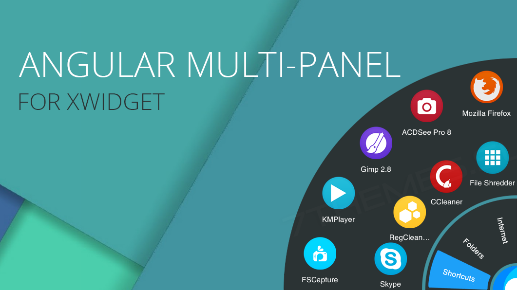Angular Multi-Panel