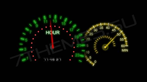 Big Dashboard Clock