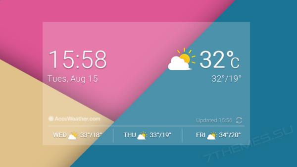 LG G6 Original Widget