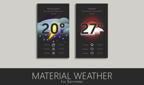 Material Weather