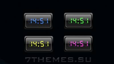 CreativX Digital Clock