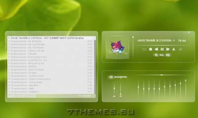 Winamp Skin Softly