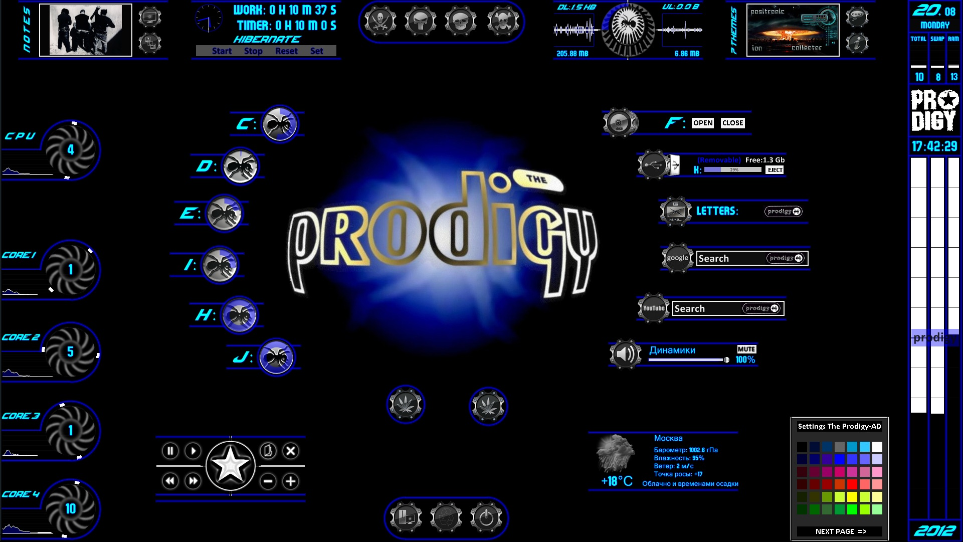 The PRODIGY-AD