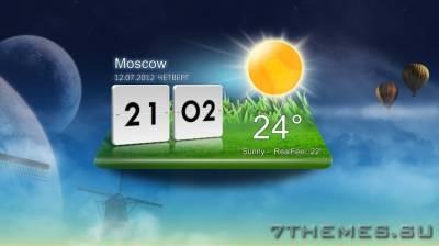 LG Optimus Weather