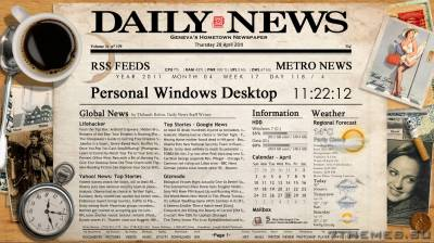 Newspaper Desktop