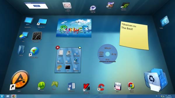 Программа для рабочего стола windows 7