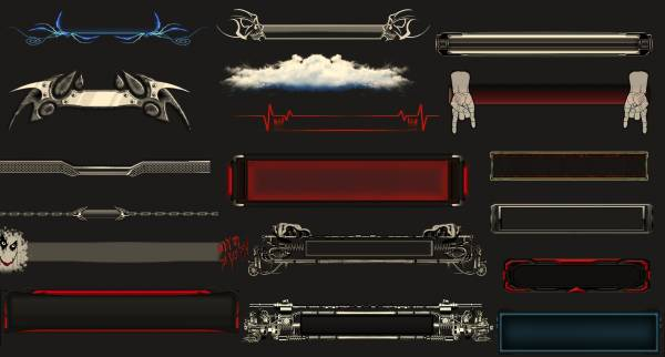 RocketDock Skins Collection