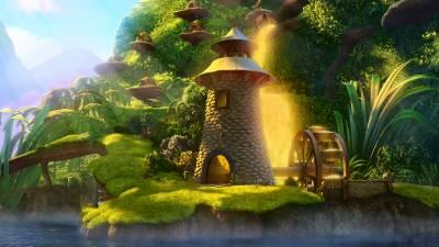 Fairydust waterwheel