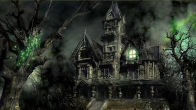 Haunted mansion 1280x721, Мистика
