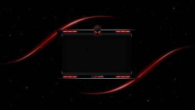Alienware red