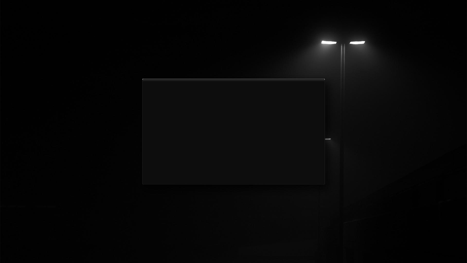 Картинка черный экран на рабочий стол