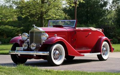 Packard Deluxe Eight 1933