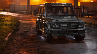 Mercedes, AMG, Evening, G63, Carbon, W463