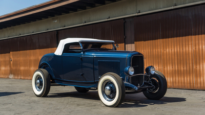 Ford, 1932, Hot-Rod, American, Classic, Roadster