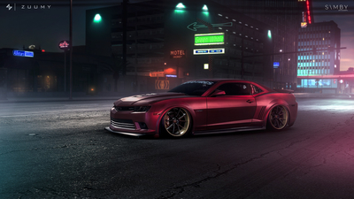 stance, photoshop, Chevroet, Need For Speed, art