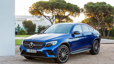 Mercedes-Benz, Coupe, мерседес, GLC-Class, AMG