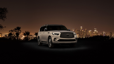 Los Angeles, QX80, Infiniti, 2018, Лос-Анджелес