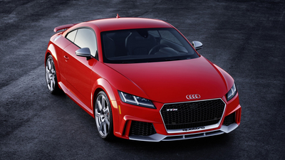 Audi, 2018, RS, Red, TT, German