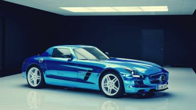 Mercedes-Benz SLS AMG Coupe Electric