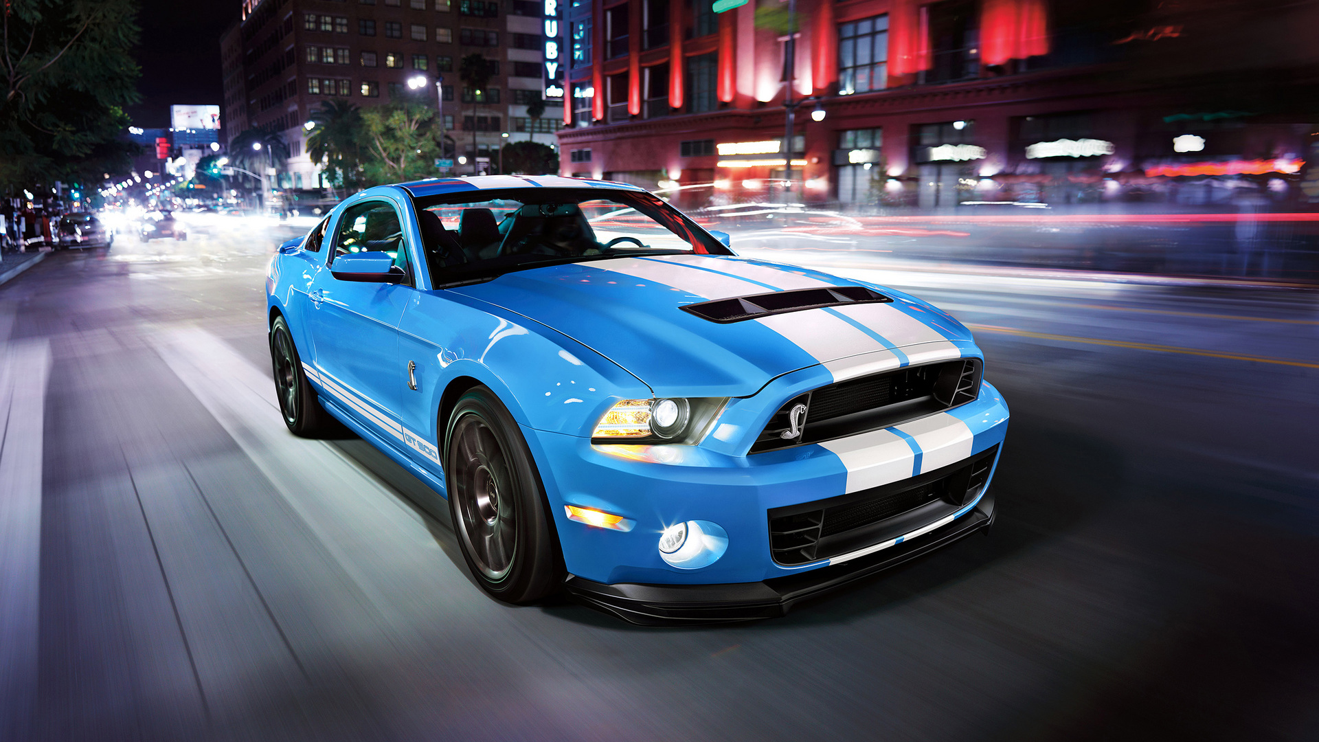 Ford Shelby GT500 2014