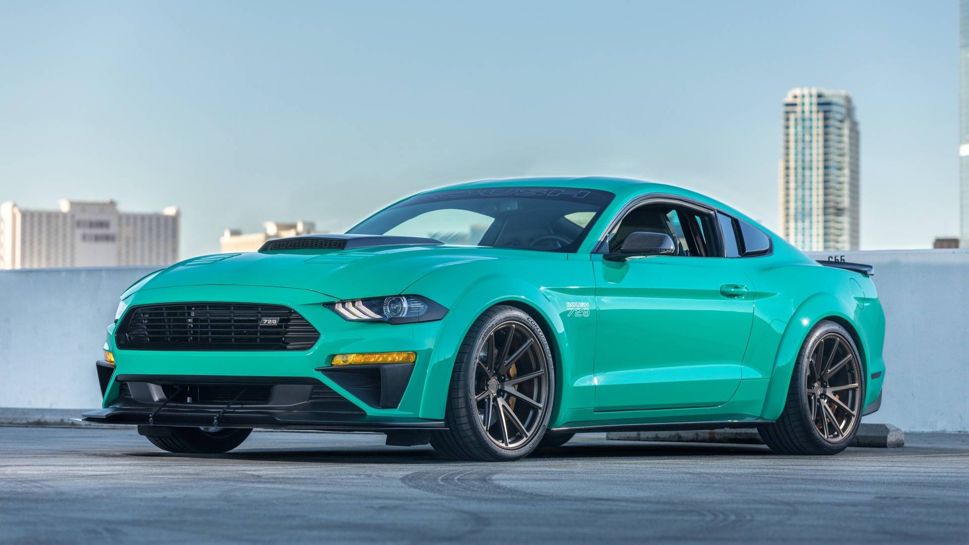 Roush, 729, 2018, Ford Mustang