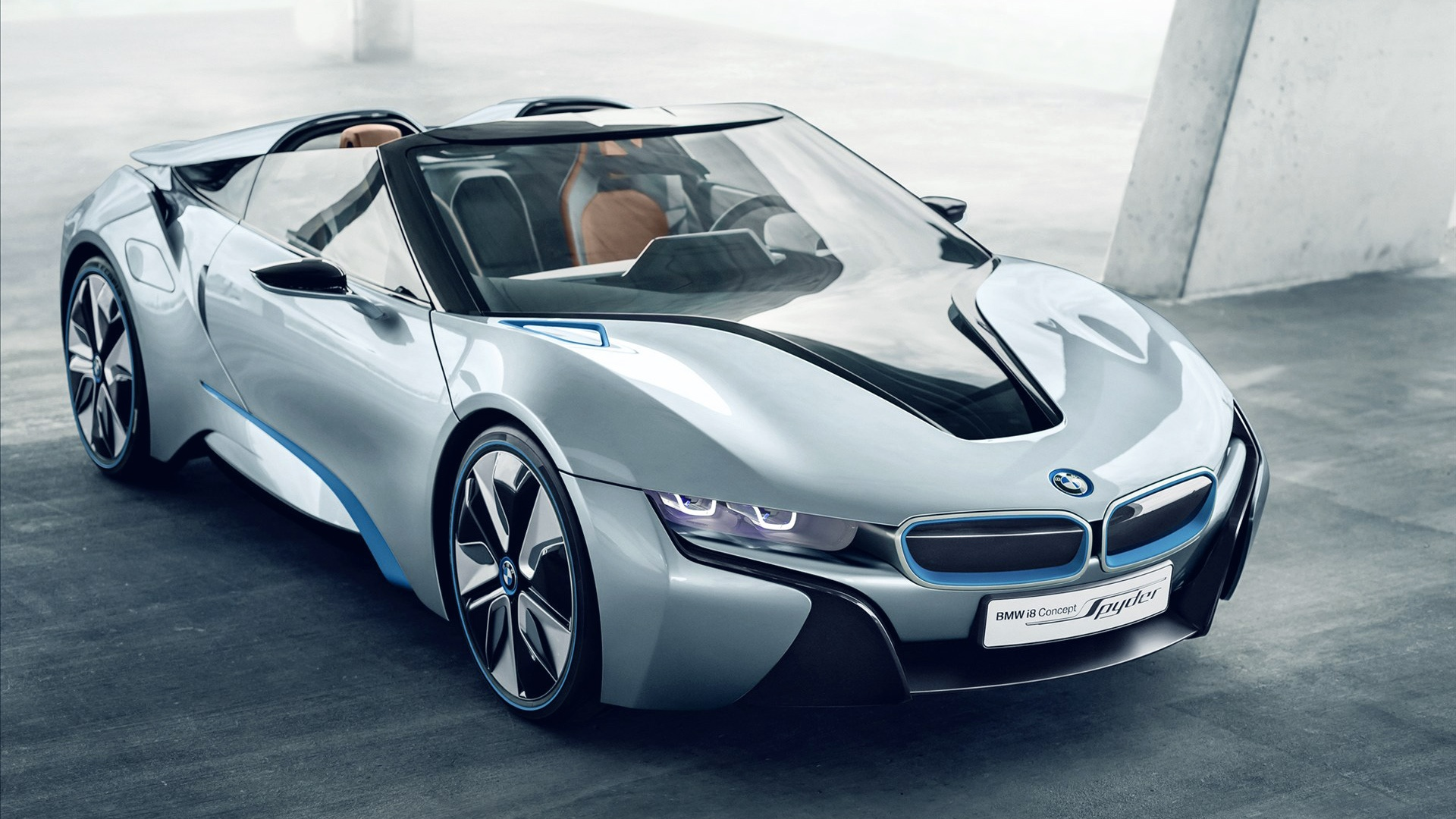 BMW i8 Spyder Concept Car