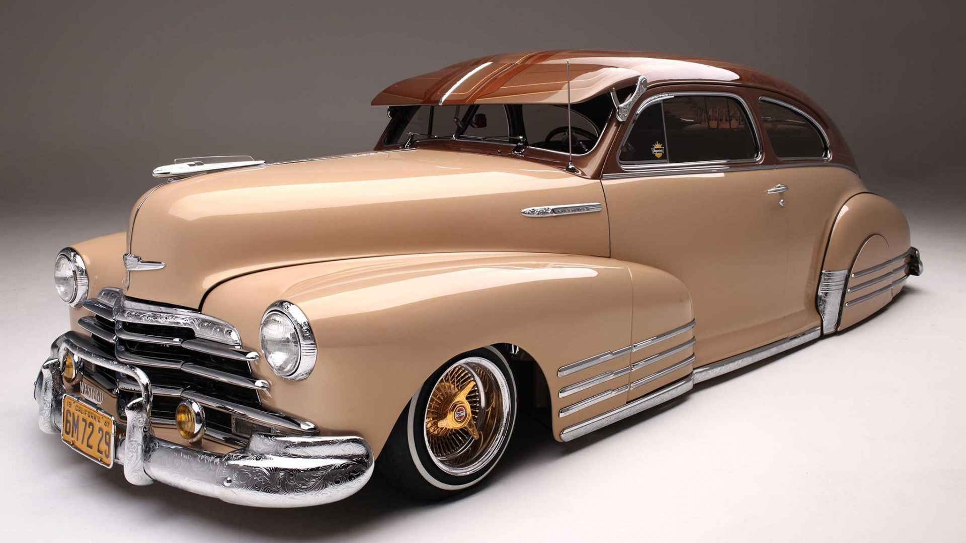 Custom, Lowrider, Chevrolet, Fleetline, 1947