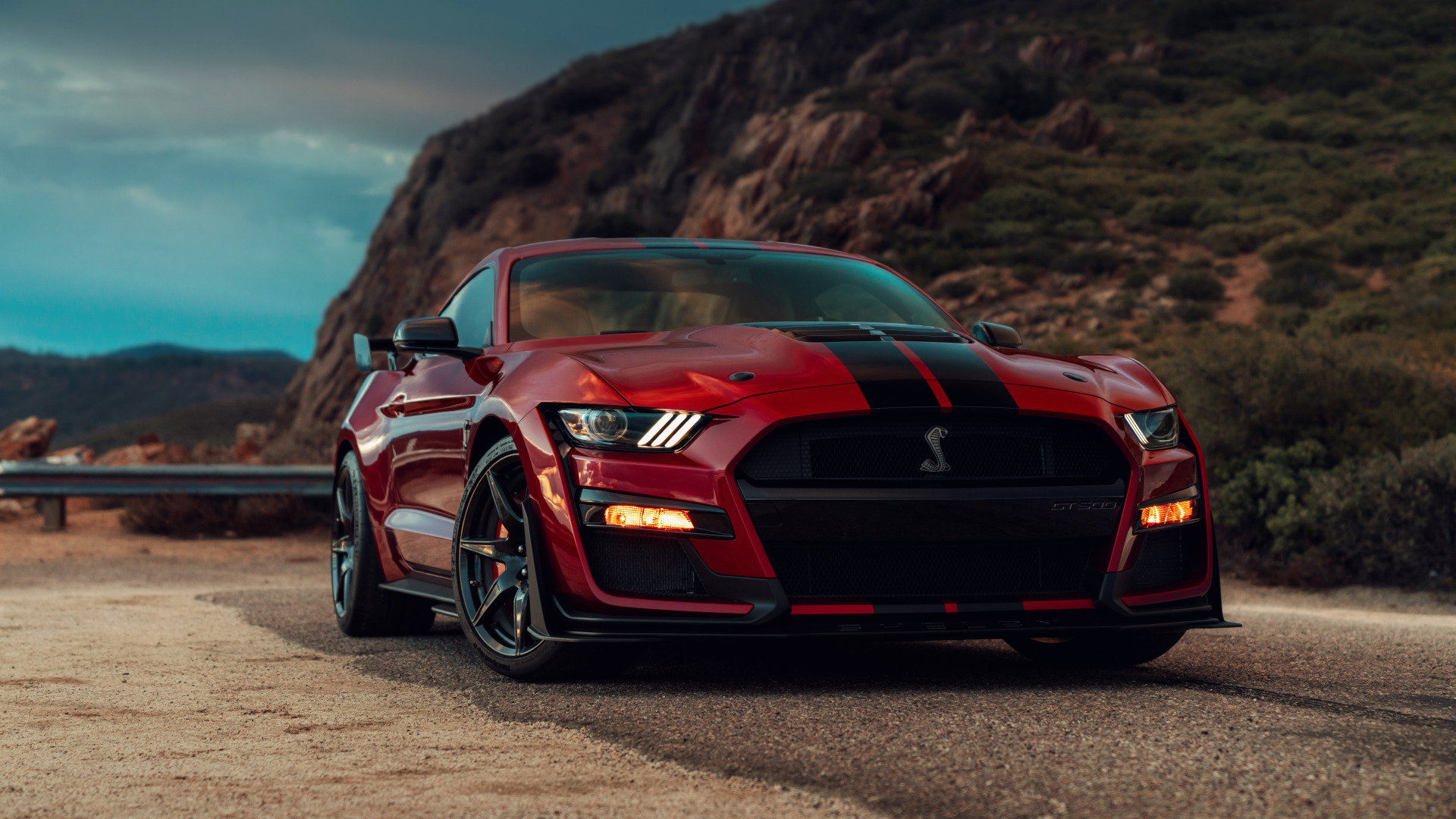 Ford Mustang Shelby GT500 (1920x1080) - Обои - Автомобили
