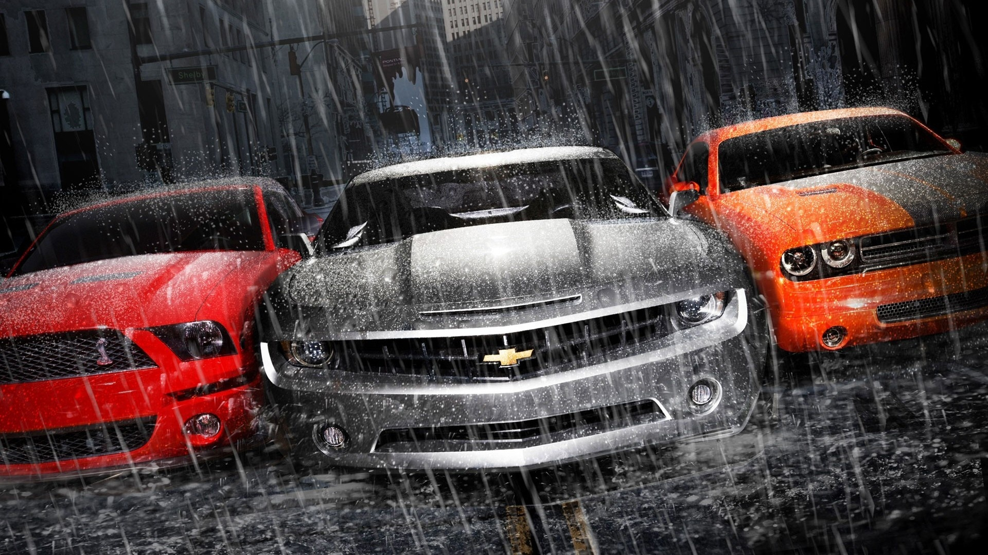 MUSCLE CARS 2