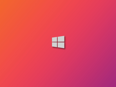 Windows 10 Fade