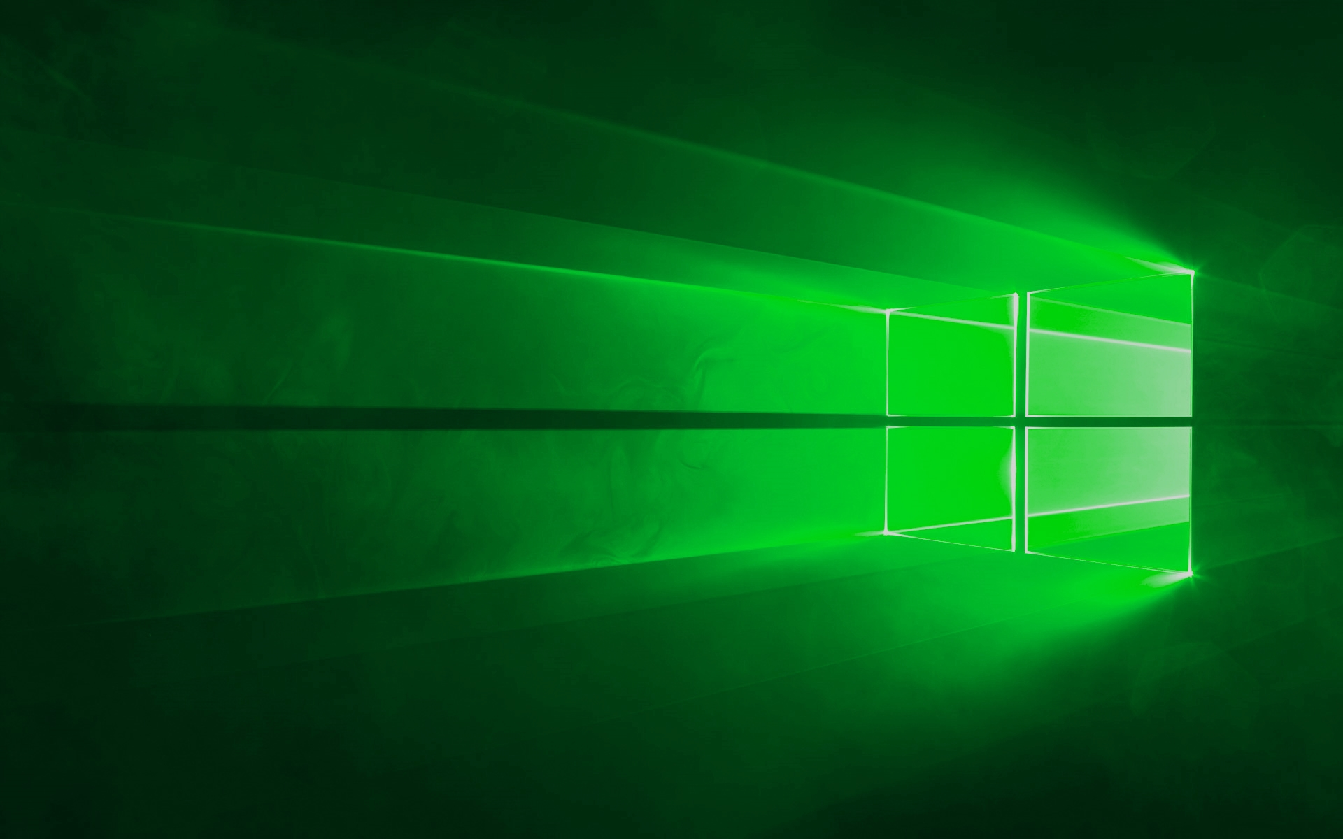 Windows 10 Green