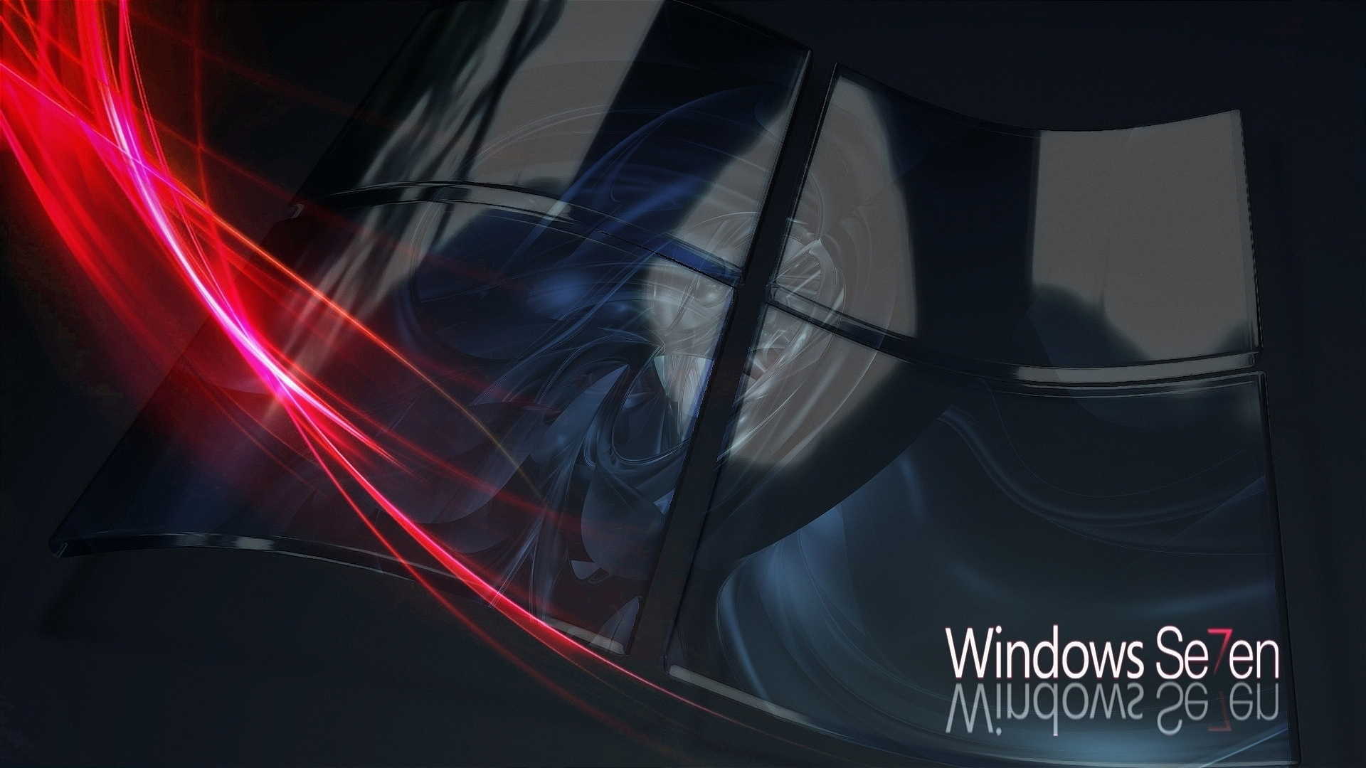 Windows 7 3D Abstract