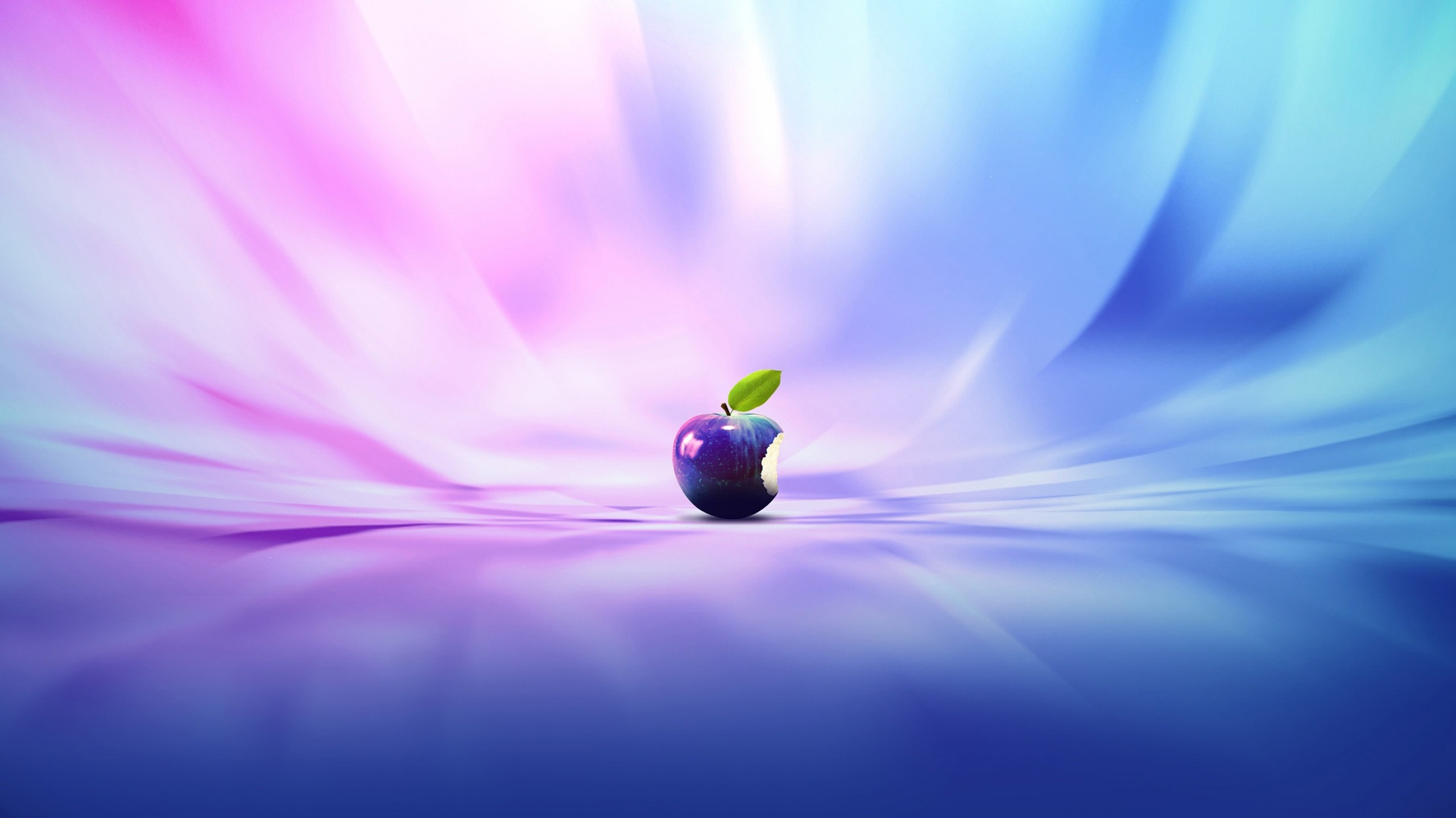 Purple Blue Apple