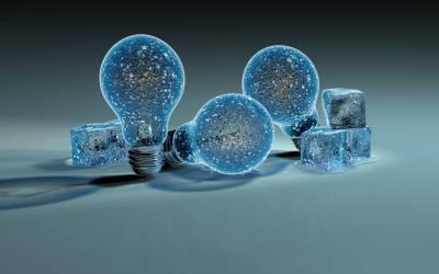 Ice Light bulbs