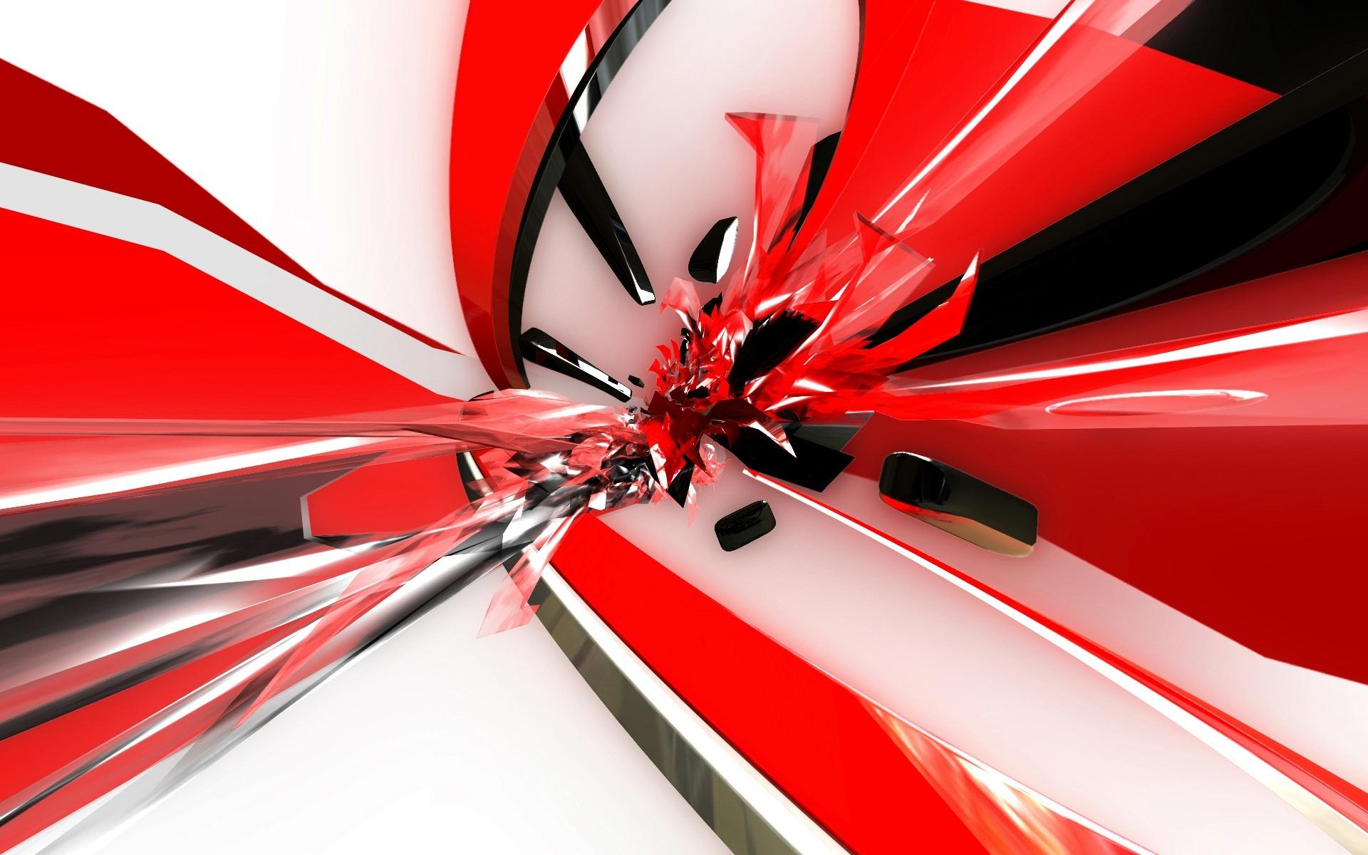 черно белые фото с красным фоном
