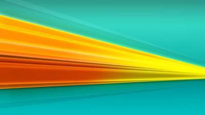 Желто-оранжевая линия