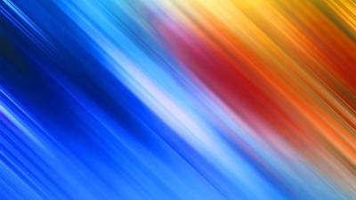 Blurry colors