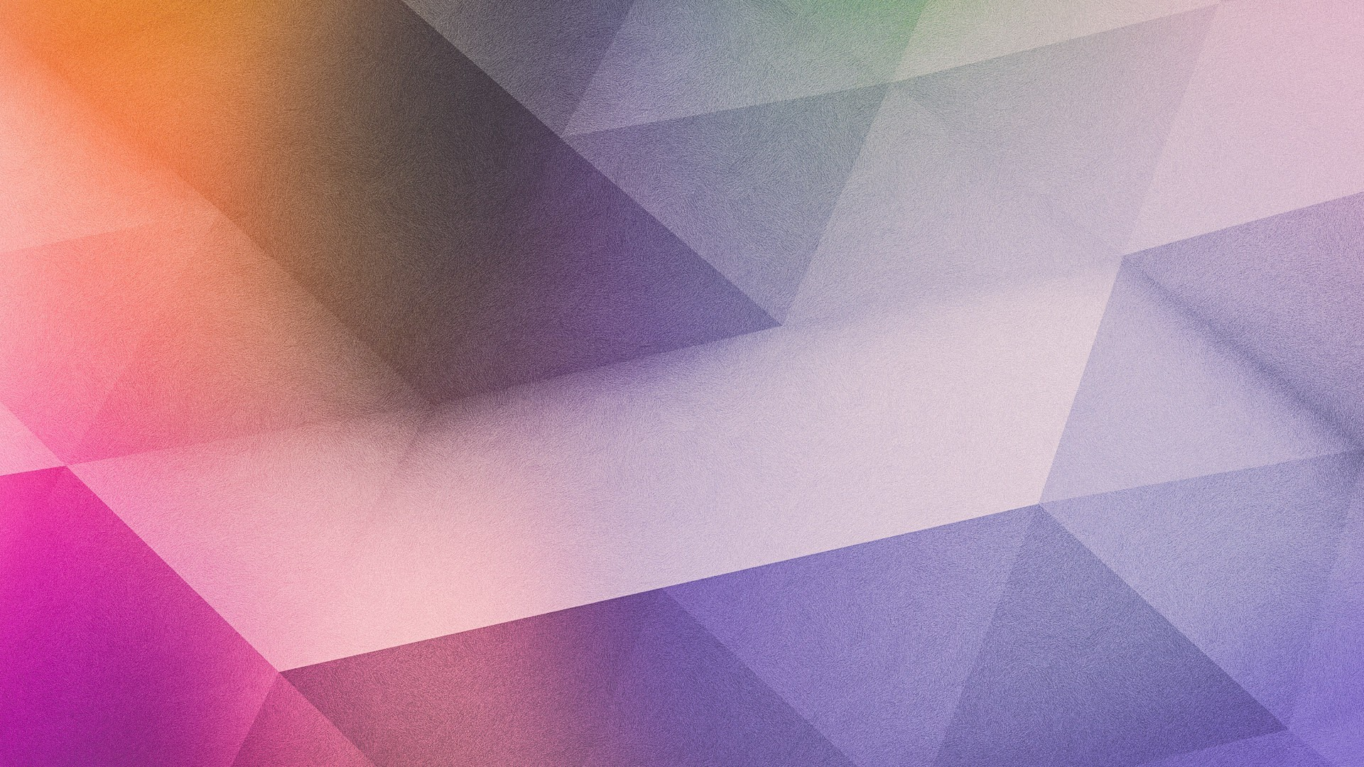 Purple gradient polygon
