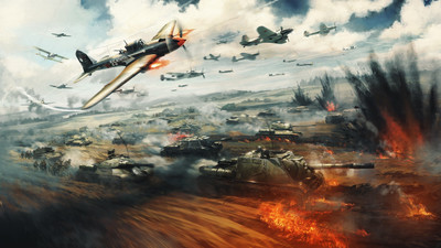 War Thunder Battle