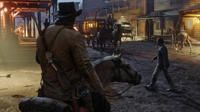 Red Dead Redemption 2 (1920x1080) - Обои - Игры