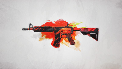 Counter  Strike m4a4 Howl